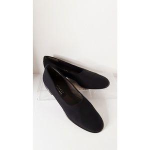 """Stuart Weizman Black Flats 1"""" Heel Size 7N"""